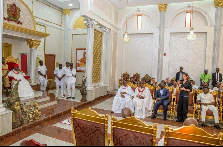 Oba of Benin Palace