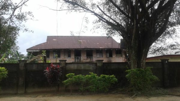 Lord Luggard's first residence